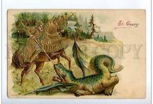 Dragons on Postcards