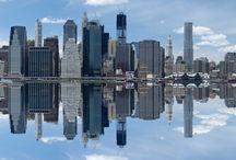Double Take NY / Reflections of NY Panorama