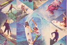 I enjoy surfing