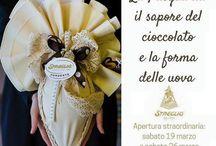 Pasqua al Cioccolato Streglio / Chocolate eggs for Easter in Streglio