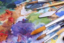 Art Ideas / Ideas for using art; with non-creatives; to de-stress; unblock; and have fun.
