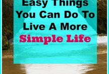 SImple Life / Live a simple life. Minimalism, joyful living, slowing down. (BOARD COLLABORATIONS ARE ONLY OPEN TO CURRENT CLIENTS. FOR INQUIRIES PLEASE CONTACT ME ON HONEYCAKESOCIALMEDIA.COM)