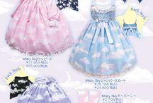 Fairy Kei / Kawaii Harajuku Fashion - Pastel Colours - 80's Toys - Child-like Style -