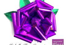 Rinea Violet Foiled Paper