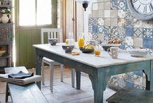 плитка на кухню в стиле лофт