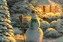 Kinkade Christmas