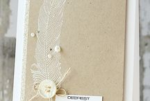 feathers - cards