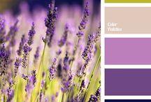 Color palettes PURPLE VIOLET FIOLET Palety kolorów