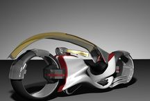 car and bike concept / 乗り物 / by KazuoHattori