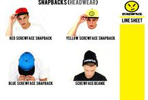Screwface Summer Line Sheet 2013 (Part 1) / http://www.screwface-clothing.com