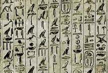 hieroglyphic texts