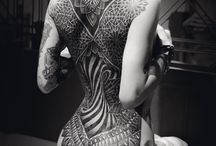 Back piece inspo / Kickass back pieces