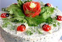 decoración de comida