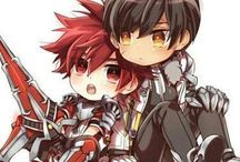 Elsword guys and yaoi and stuff ~ / May the RNGod be with you