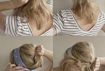 how-to's for hair