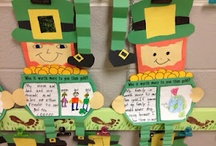 St. Patrick's Day / Lessons, activities, and ideas for celebrating Saint Patrick's Day in the elementary classroom