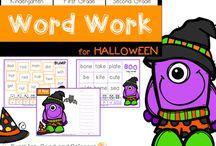 Halloween First Grade