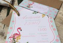 Η βάπτιση της Τόνιας 7.5.17 Flamingo & Pineapple