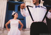TRASH THE DRESS - Casamento / Inspiração para ensaio trash the dres
