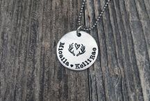 Necklaces / https://www.handstamped.com/collections/necklaces