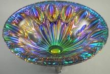 art glass-scent bottles-bowls
