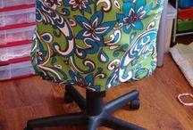 housse chaise bureau