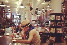 BOOKSTORES & CAFÈ`S