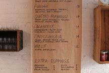 Menu / idee per menu