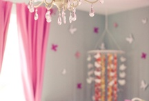 I + S baby girl bedroom  / by Anne Tremblay