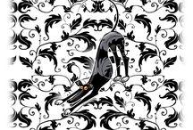 Greyhound Cartoon / Greyhound cartoons, mostly by Ricard Skipworth