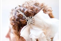 Bridal Hair, Shoes, Jewelry, Belt and Veil Accessories / by Wedding Colors