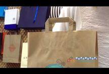 Vïdeos de bolsas de papel