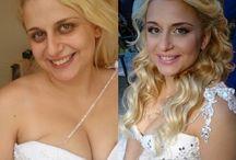 My beautiful brides / Δημιουργώντας χαρούμενα πρόσωπα την ομορφότερη ημέρα της ζωής τους!!!
