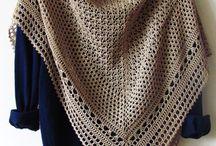 Crochet shawl / scarf