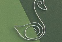 alambre / manualidades con alambre