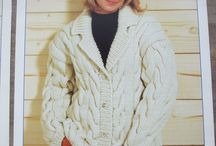 Knitting Crochet patterns Womens Sweaters, Pullovers, coats, jackets, cardigans / Stylecraft