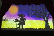 Teatro de Sombras. El Patito Feo / teatro de Sombras