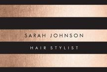 Business cards for hairdressers