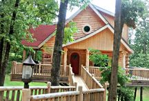 Our Rental Treehouses / Luxury Treehouses Available for Nightly or Weekly Rental! / by Branson Cedars Resort