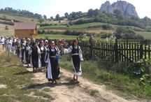 Harvest Festival - Festivalul Secerisului / Agrarian habits in the area inhabited by shepherds in Apuseni Mountains are well kept.