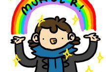Sherlock drawings