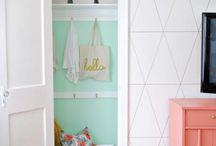 Closet Construction. / Design & organization for our future home's closet.