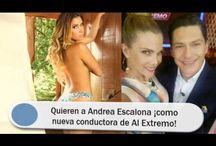 Quieren a Andrea Escalona ¡como nueva conductora de Al Extremo!