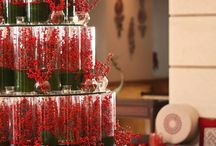 Christmas hotel decoration