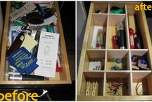 Organized / by Laurie Flickinger