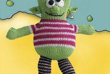Amigurumi Inspiration / Amigurumi & toys are great fun to knit or crochet in Louet North America Yarns