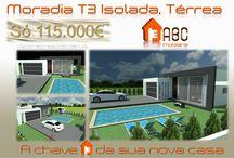 """As nossas Moradias """"Chave-na-mão"""". / Moradia Isolada - Térrea, para venda. Consulte mais informações neste link: http://www.abcimobiliaria.pt/detail.php?prod=1403"""
