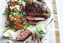Lamb, pork, beef & game