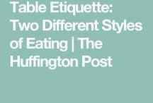 protocol and etiquette