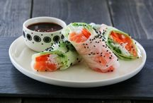 Oriental food inspiration